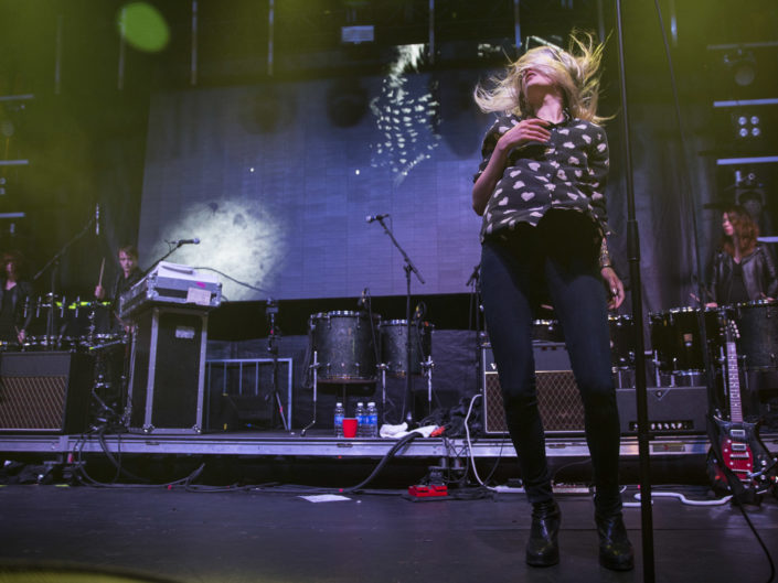 The Kills at Capitol Hill Block Party in Seattle, WA on July 25, 2015.