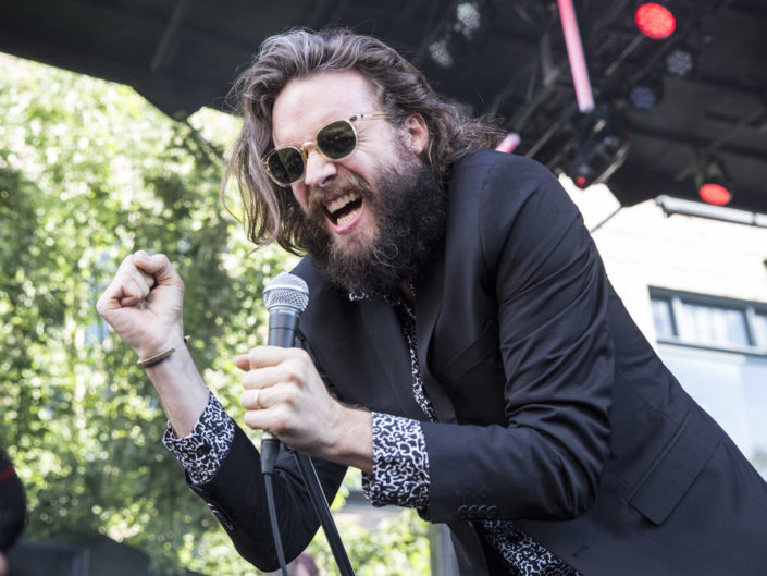 Father John Misty at Capitol Hill Block Party in Seattle, WA on July 26, 2016.