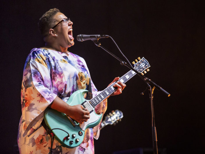 Alabama Shakes at Marymoor Park in Redmond, WA on August 8, 2015.