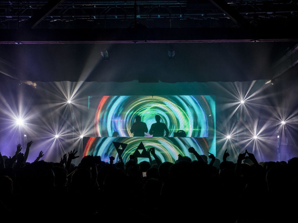 Tritonal at Showbox SoDo in Seattle, WA on October 9, 2015.