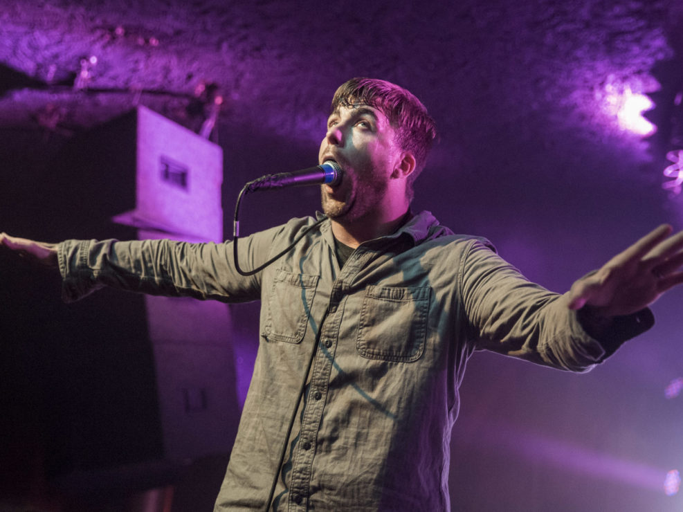 Circa Survive at the Showbox in Seattle, WA on November 8, 2015.