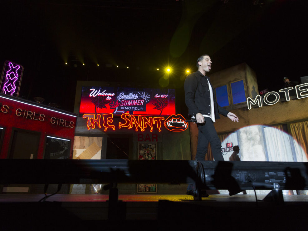 G-Eazy at WaMu Theater in Seattle, WA on January 7, 2016.