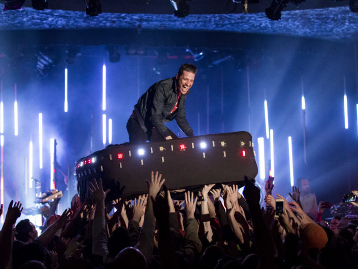 MuteMath at the Showbox in Seattle, WA on March 8, 2016.