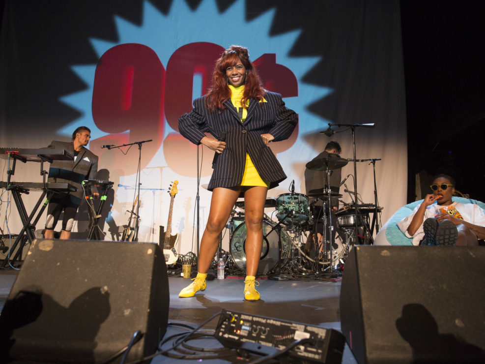 Santigold for Little Big Show 15 at the Neptune Theatre in Seattle, WA on May 14, 2016.