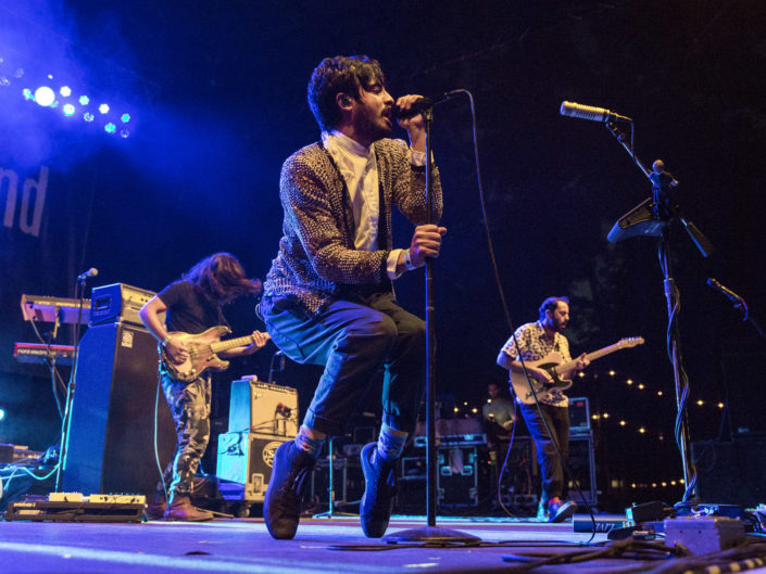 Young the Giant at Marymoor Park in Redmond, WA for Summer Camp on August 14, 2016.