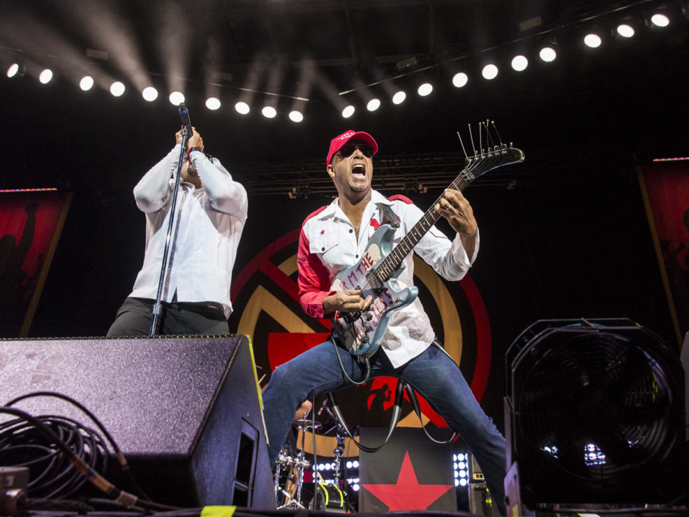 Prophets of Rage at White River Amphitheater in Auburn, WA on September 10, 2016.