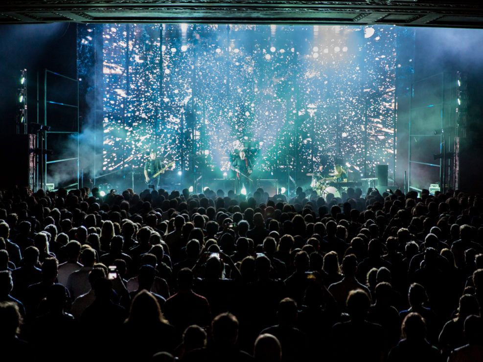 Sigur Rós at the Paramount Theatre in Seattle, WA on September 20, 2016.