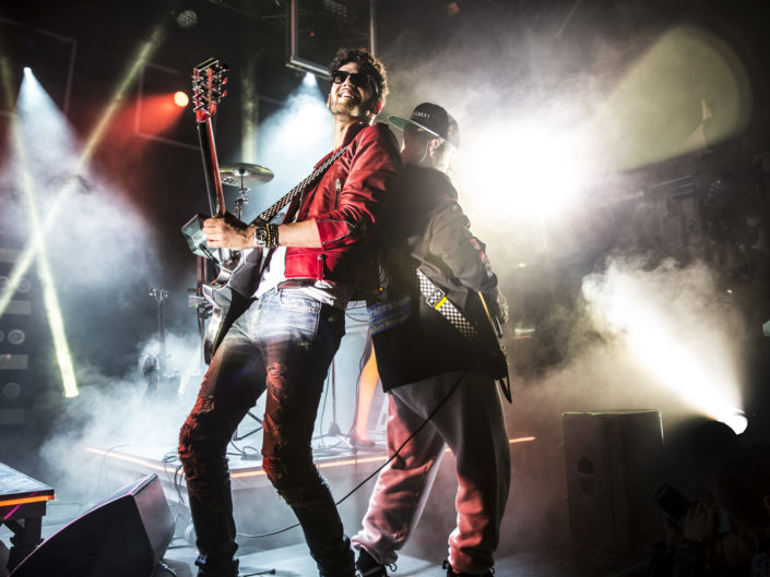 Chromeo at Capitol Hill Block Party in Seattle, WA on July 27, 2014.