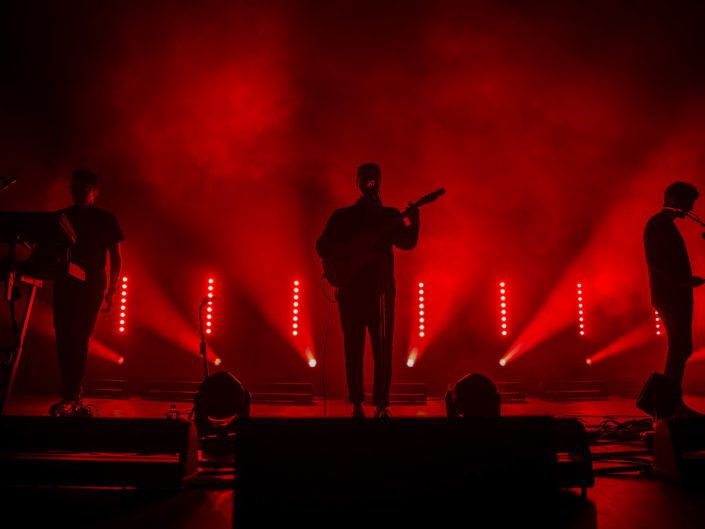 Alt-J at Paramount Theatre in Seattle, WA on October 15, 2014.