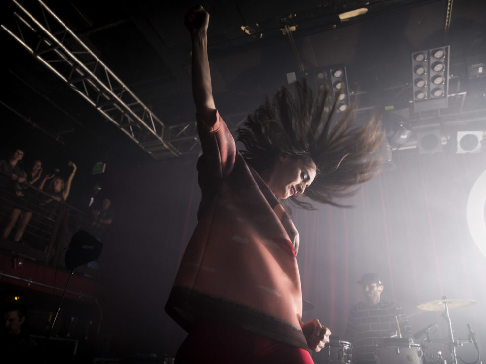 Yelle at Neumos in Seattle, WA on October 24, 2014.