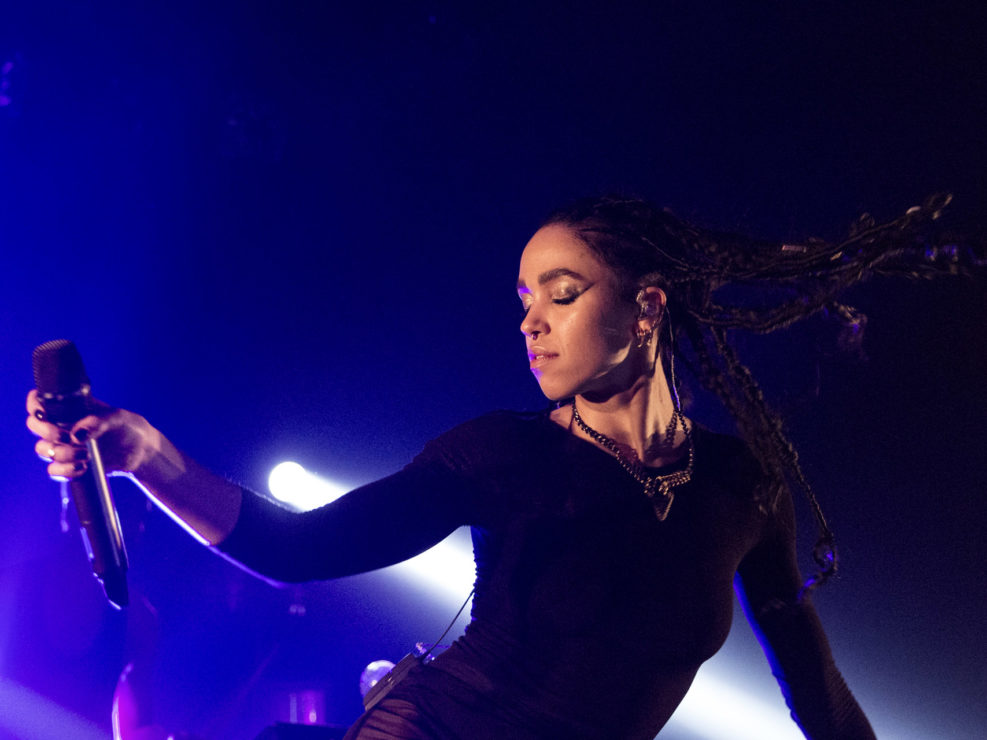FKA Twigs at the Showbox in Seattle, WA on November 18, 2014.