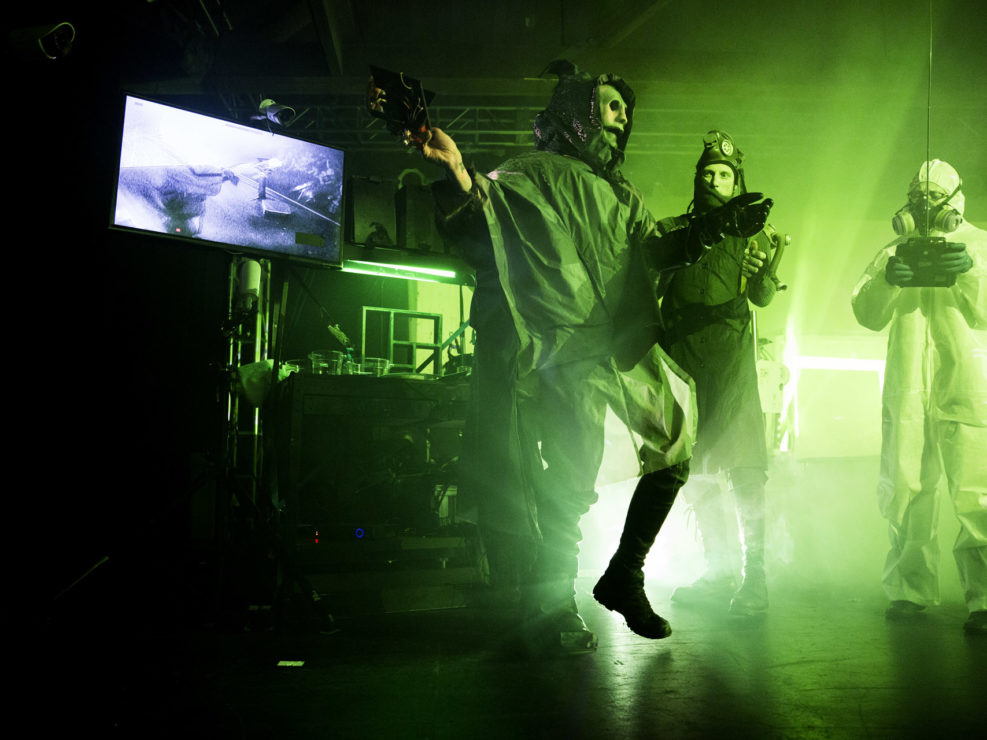 Skinny Puppy at Showbox SoDo in Seattle, WA on December 15, 2014.